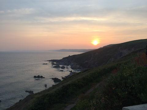 Breathtaking seaside chalet