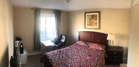 Chambre privée confortable et paisible
