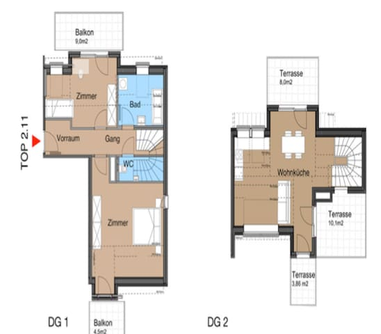 Room shared in Rooftopflat 211B