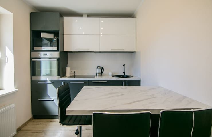 Apartment with all you need for weekend or longer