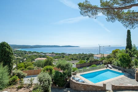 Sea view villa in Cavalaire-sur-Mer