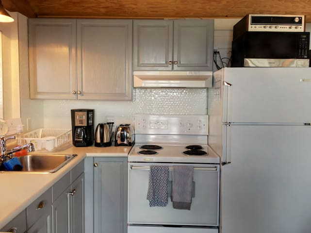 Fully equipped Kitchen  - The Beach House Texada
