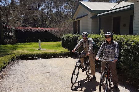 Arriving by train?Free bike use for getting around - Wentworth Falls