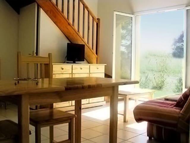 T2 Duplex pour vacances ou cure - Cazaubon - Apartment