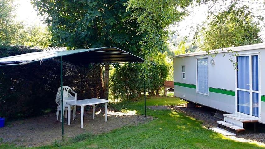 Vacances au Camping - Arvieu - Bungalow