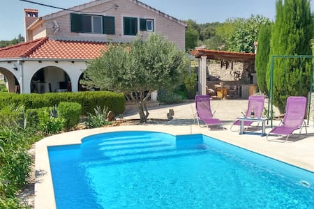 Charming Villa Nika with the pool