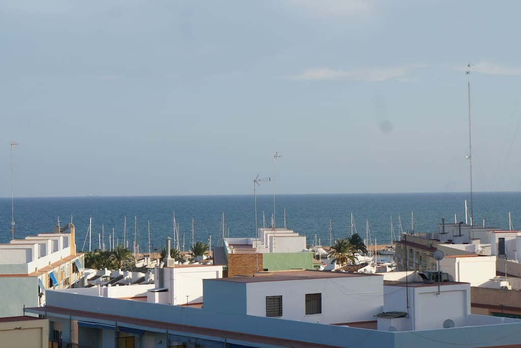 Vistas del Club Náutico/ Views of the Yacht Club