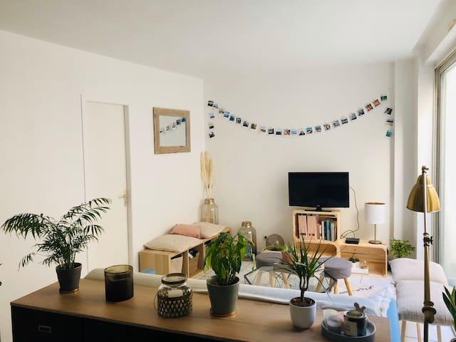 Appartement cosy hyper centre  quartier Chartrons