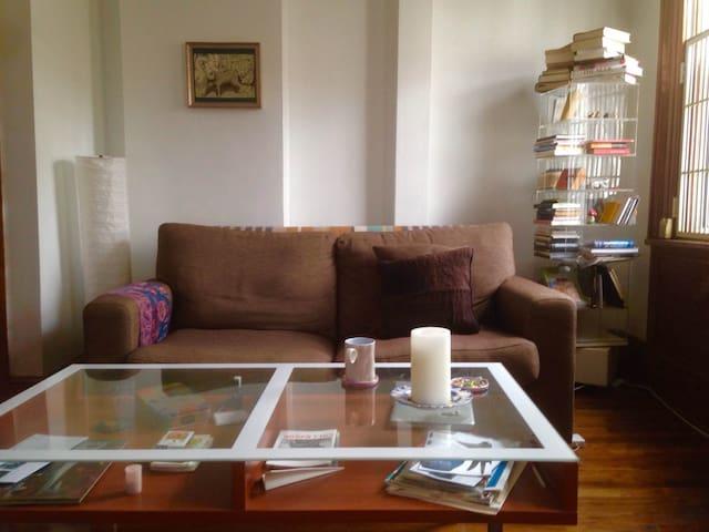 A ROOM OF ONE's OWN IN FORT GREENE BROOKLYN - Brooklyn - Huis