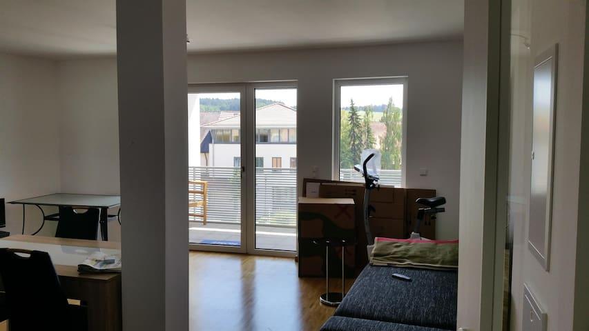 1,5 Zimmer Wohnung - Mengkofen - Apartemen
