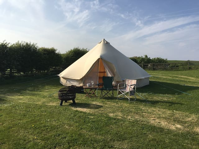 Glamping at Redcliffe near Scarborough and  Filey