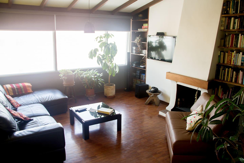 Lounge with home cinema