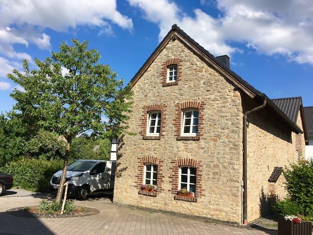 Freistaat Eifel, lovingly restored Eifel farmhouse