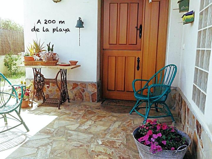 Casa en la Playa, desayuno incluido