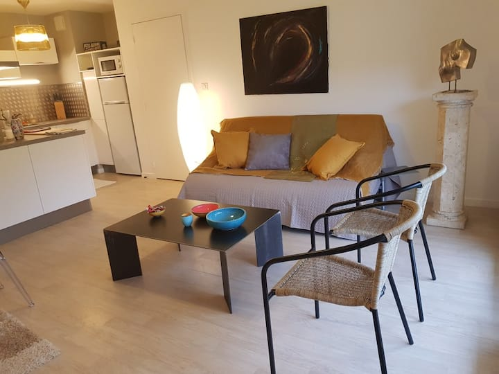 Bel appartement raffiné esprit contemporain