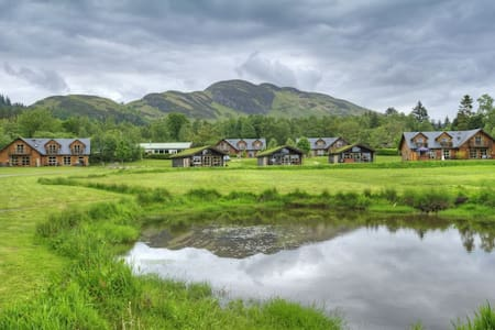 Drumlanrig Luxury lodge with optional hot tub - Balmaha - Chalet