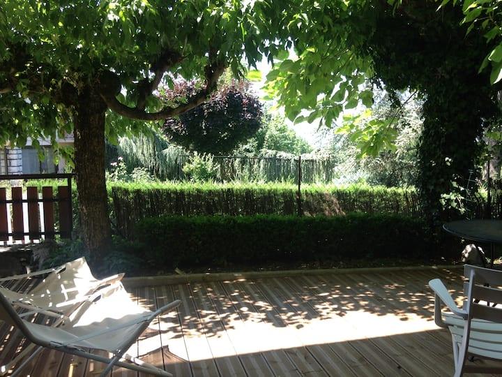 New studio apartment in Mouxy-Aix les Bains.