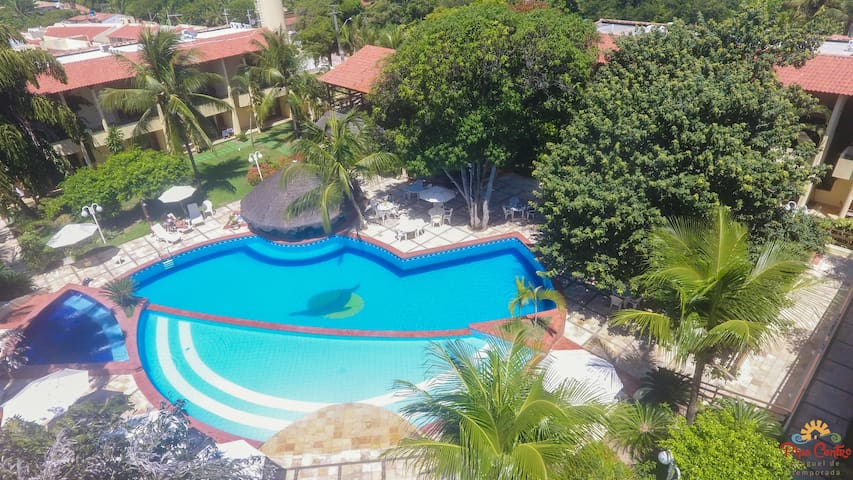 Condomínio Solar Pipa - Flat Térreo Vista Jardim