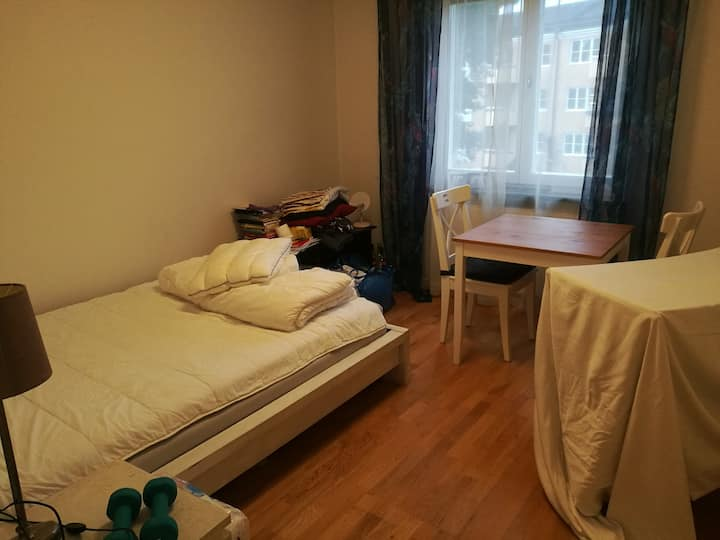Spacious room in a quiet flatshare