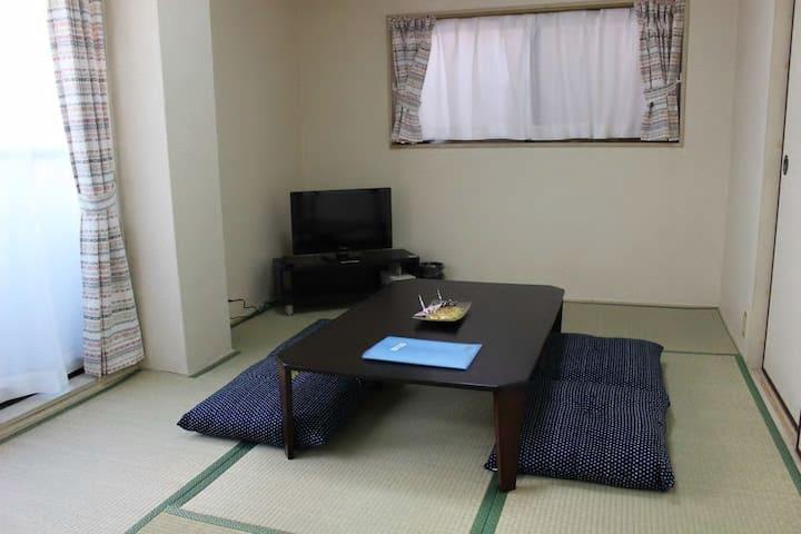 3 rooms + kitchen