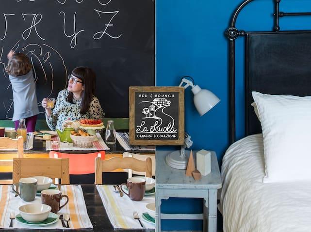 Aritmetica! Giocare in famiglia a La Scuola B&B - Piazza Campana - Hotel boutique