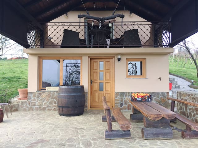 Nature Retreat In The Vineyard - Vaneča - บ้าน