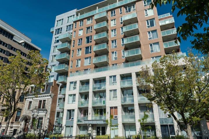 Brand new condominium in Downtown Montreal