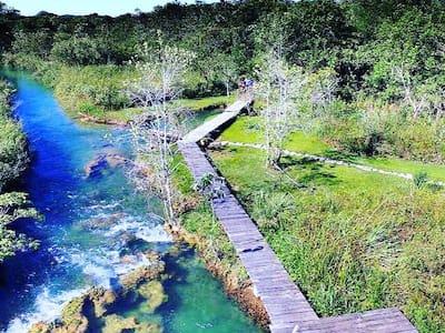 Rancho Cristalino- RIO FORMOSO
