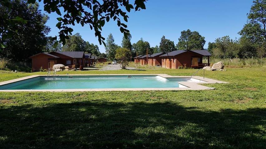 Cabañas Troncos Del Sur 3 Villarrica Chile