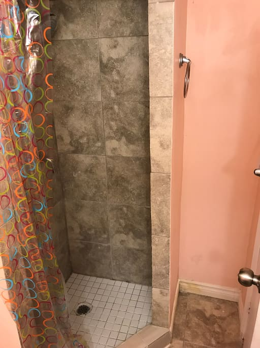 Private Bathroom shower