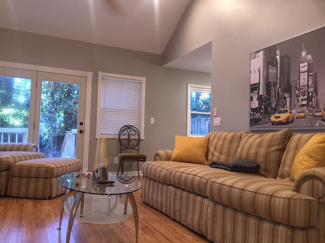 Quiet Townhouse in Dowtn Decatur & Mins to Atlanta - Decatur - Sorház