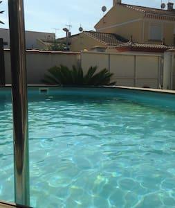 chambre dans villa à 10mn de la mer et de beziers - Boujan-sur-Libron