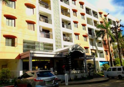 SPACIOUS & QUIET 1-B 3mins to Mactan Cebu Airport - 拉普拉普市(Lapu-Lapu City) - 公寓