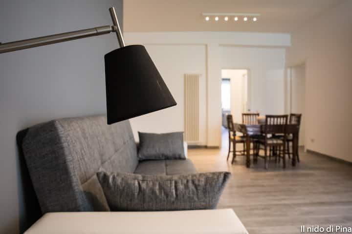 Nido di Pina. Moderno, pulito, luminoso e ospitale