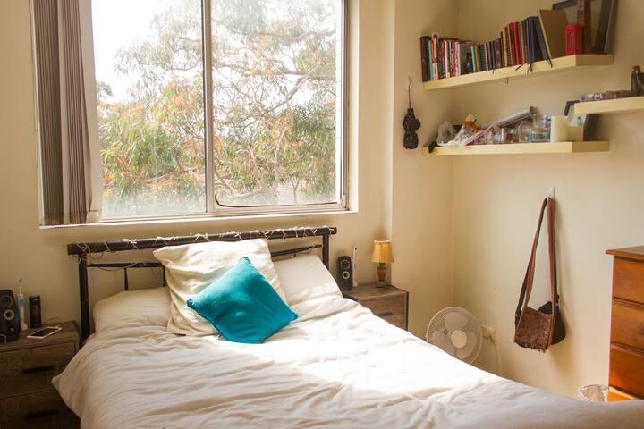 Sunny room in leafy Centennial Park!