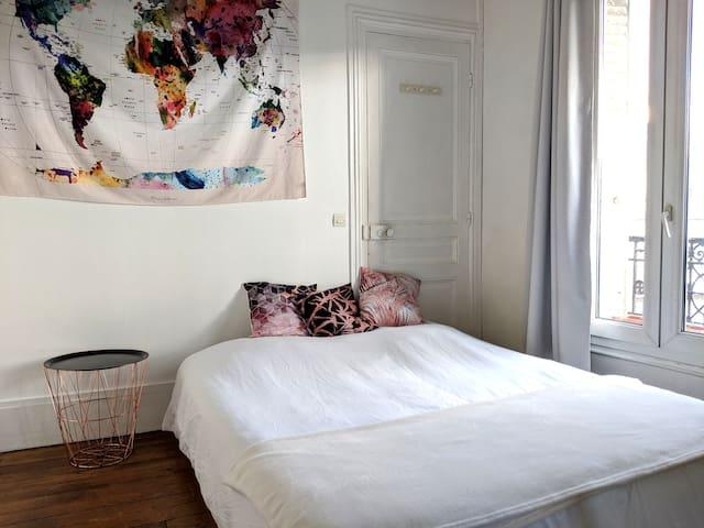2 Private Bedrooms close to Paris