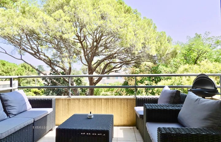 Bright apartment with terrace - Montpellier