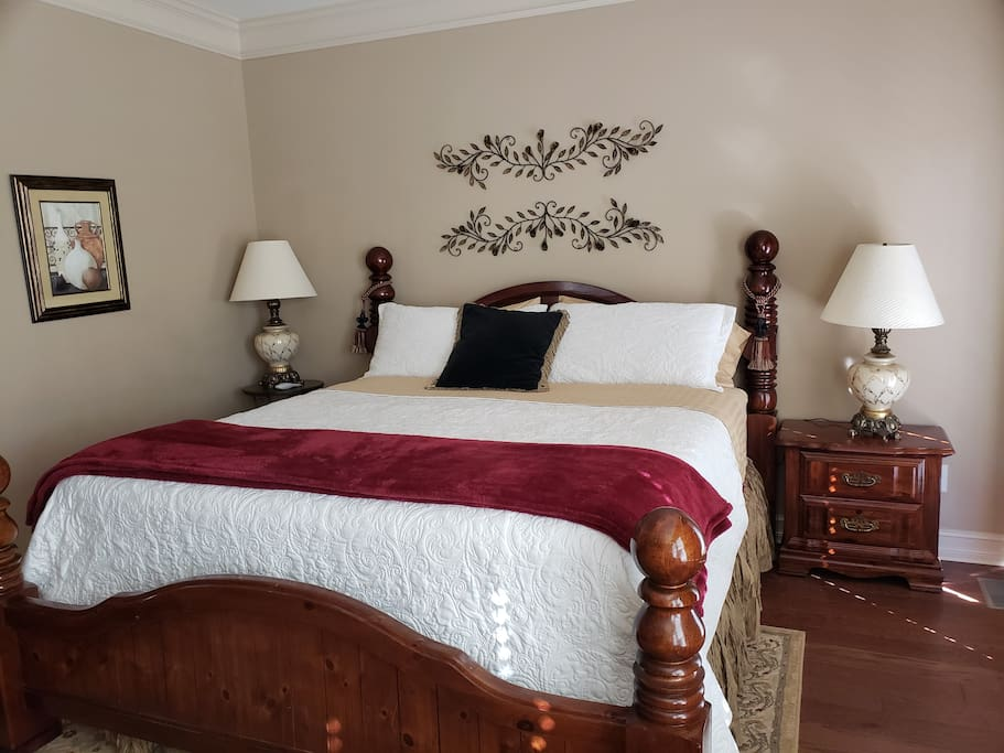 Bridal Suite King Sized Bed
