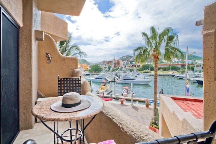 In the heart of the Cabo Marina.
