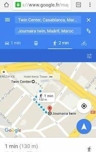 Chambre calme et propre en plein centre de Maarif - Maârif