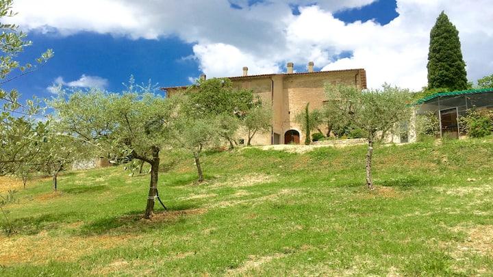 Huge Detached Villa/FOGLIANO - 20 mins/Spoleto