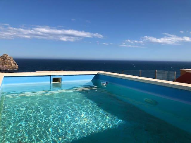 Tus vacaciones encima del mar