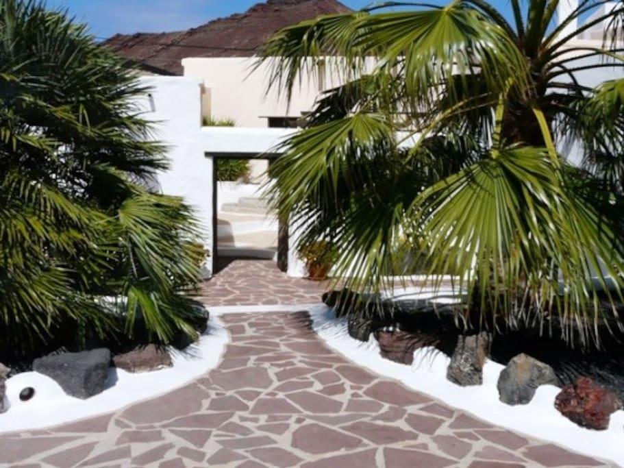 From Garden to Main Courtyard