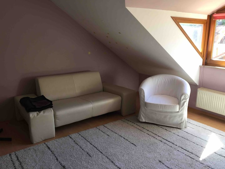 Private floor in terrace house - Lake Starnberg