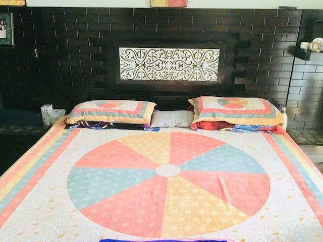 Elina1,Bedroom with Attached Washroom@Amity Noida
