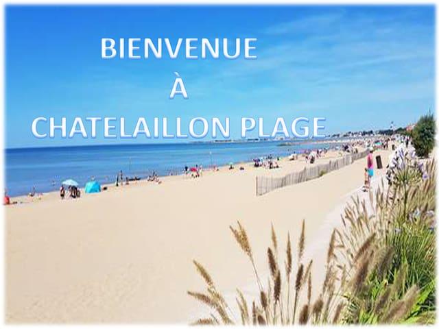 CHATELAILLON PLAGE À 5mn l'océan 10 de La Rochelle