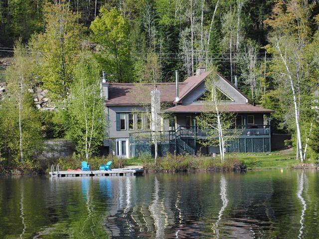 Chalet Lac des Trois Montagnes - Mont Tremblant - La Conception - Huis