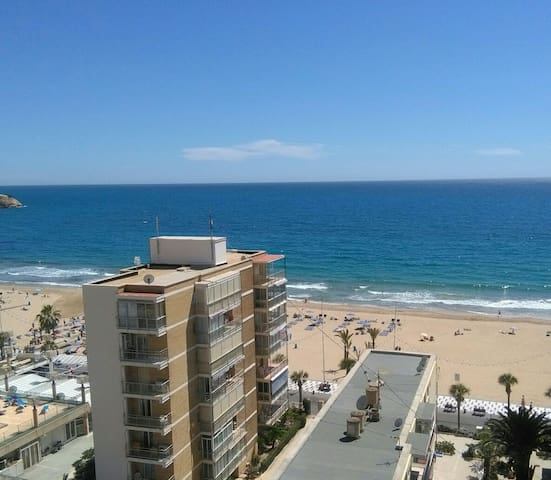 Room + private bathroom + terrace with sea view - Benidorm - Apartament