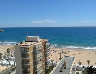 Room + private bathroom + terrace with sea view - Benidorm - Pis