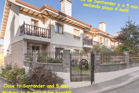 LOVELY house 5' WALKING to the BEACH!!! - Somo - Haus